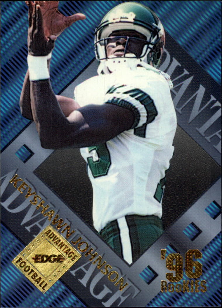 1996 Collector's Edge Advantage #17 Keyshawn Johnson RC