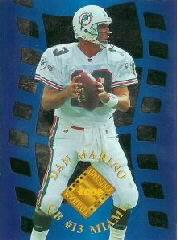 1996 Collector's Edge Advantage Crystal Cuts #CC13 Dan Marino
