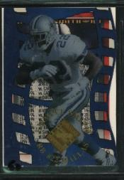1996 Collector's Edge Advantage Crystal Cuts #CC15 Emmitt Smith