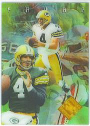1996 Collector's Edge Advantage Video #V1 Brett Favre