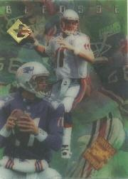 1996 Collector's Edge Advantage Video #V17 Drew Bledsoe