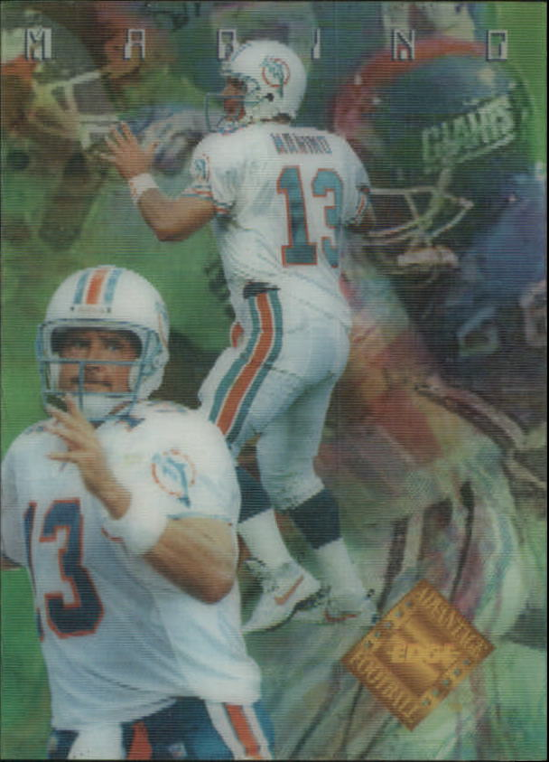 1996 Collector's Edge Advantage Video #V24 Dan Marino
