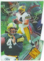 1996 Collector's Edge Advantage Video Die Cuts #V1 Brett Favre