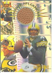 1996 Collector's Edge Advantage Game Ball #G3 Brett Favre