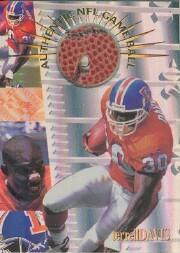 1996 Collector's Edge Advantage Game Ball #G32 Terrell Davis