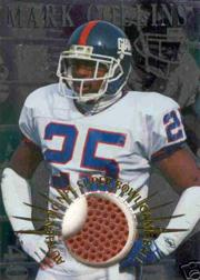 1996 Collector's Edge Advantage Super Bowl Game Ball #SB36 Mark Collins