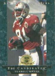 1996 CE President's Reserve Candidates Long Shots #LS27 Terrell Owens