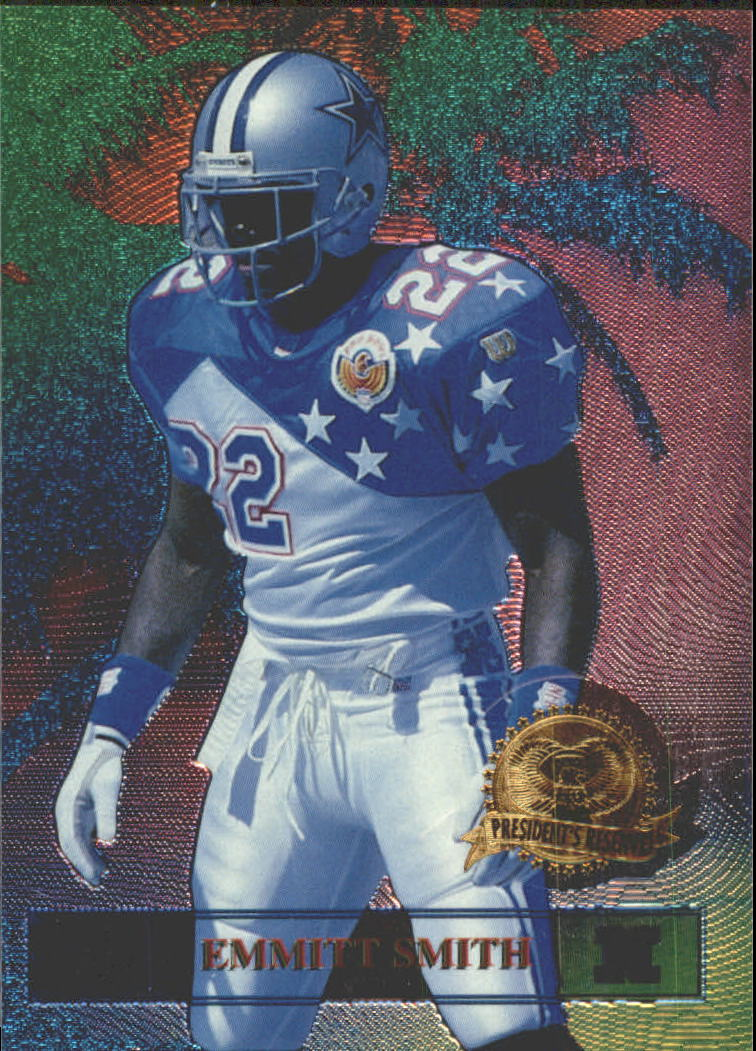 1996 CE President's Reserve Tanned Rested Ready #5 Emmitt Smith