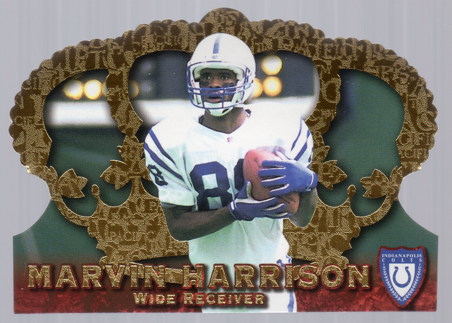 1996 Crown Royale #27 Marvin Harrison RC front image