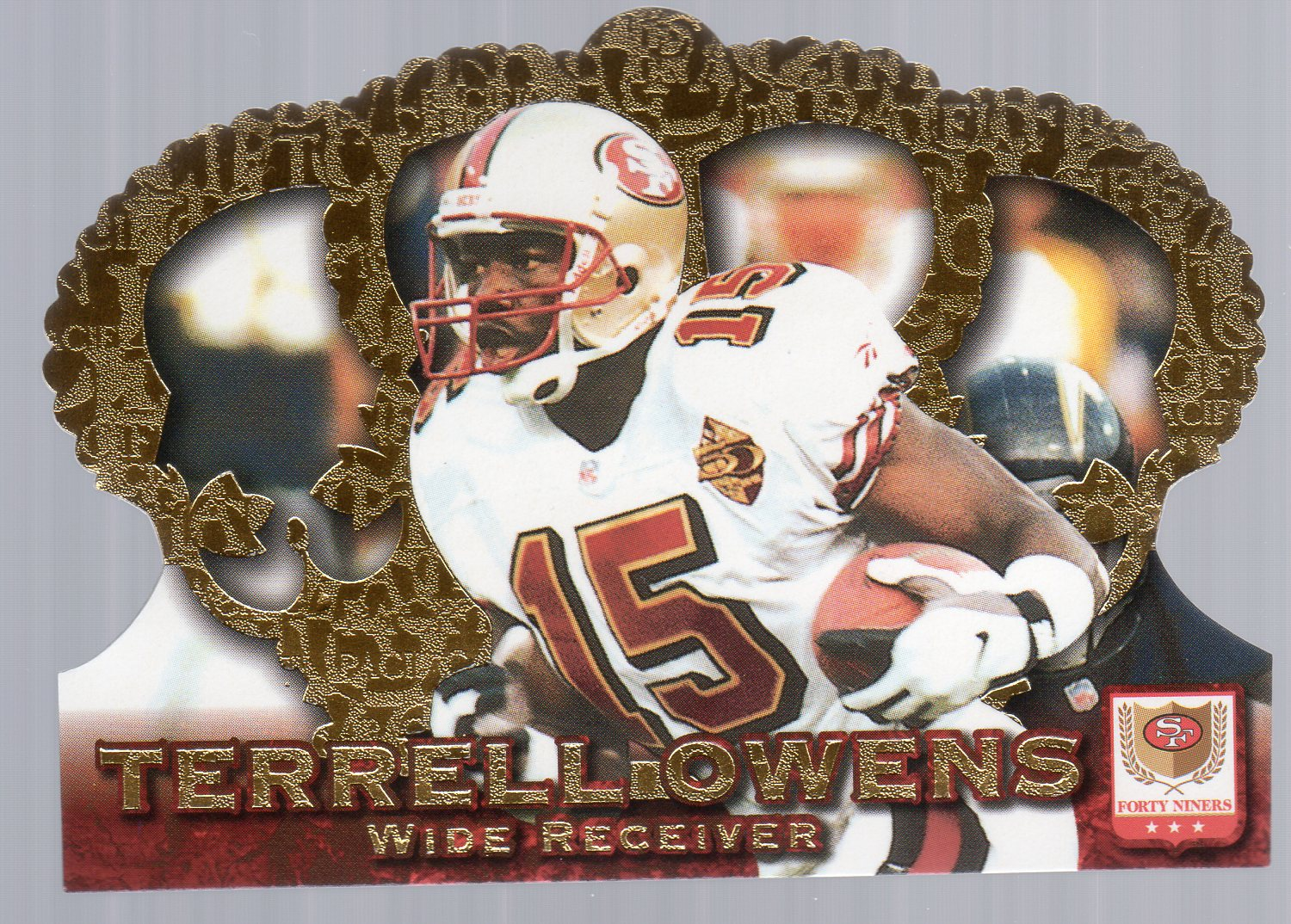 1996 Crown Royale #39 Terrell Owens RC