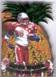 1996 Crown Royale Pro Bowl Die Cuts #9 Curtis Martin