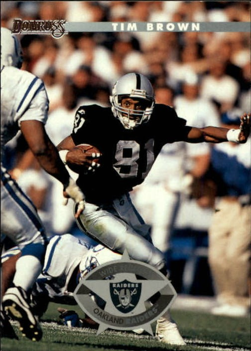 1996 Donruss #54 Tim Brown