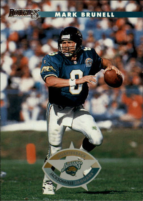 1996 Donruss #81 Mark Brunell