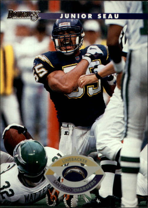 1996 Donruss #86 Junior Seau