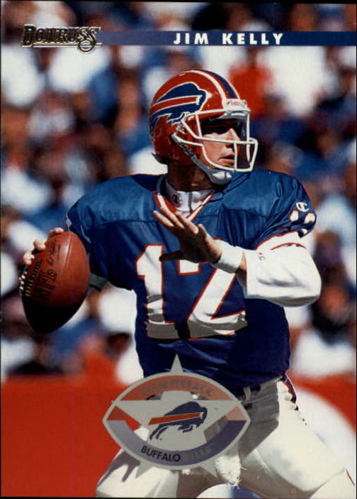 1996 Donruss #87 Jim Kelly
