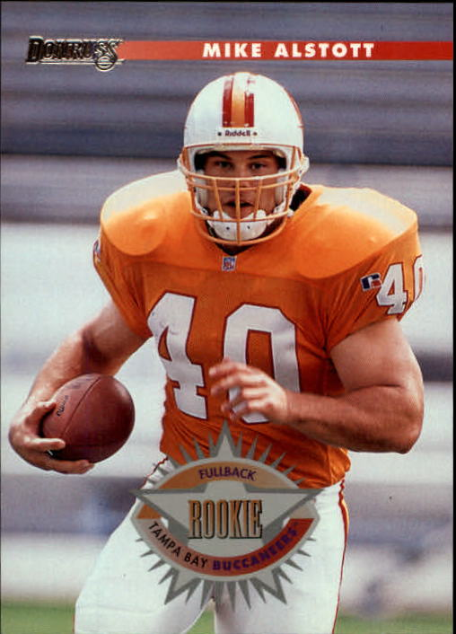 1996 Donruss #208 Mike Alstott RC