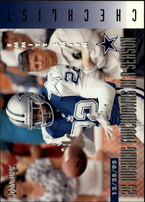 1996 Donruss #240 Emmitt Smith CL