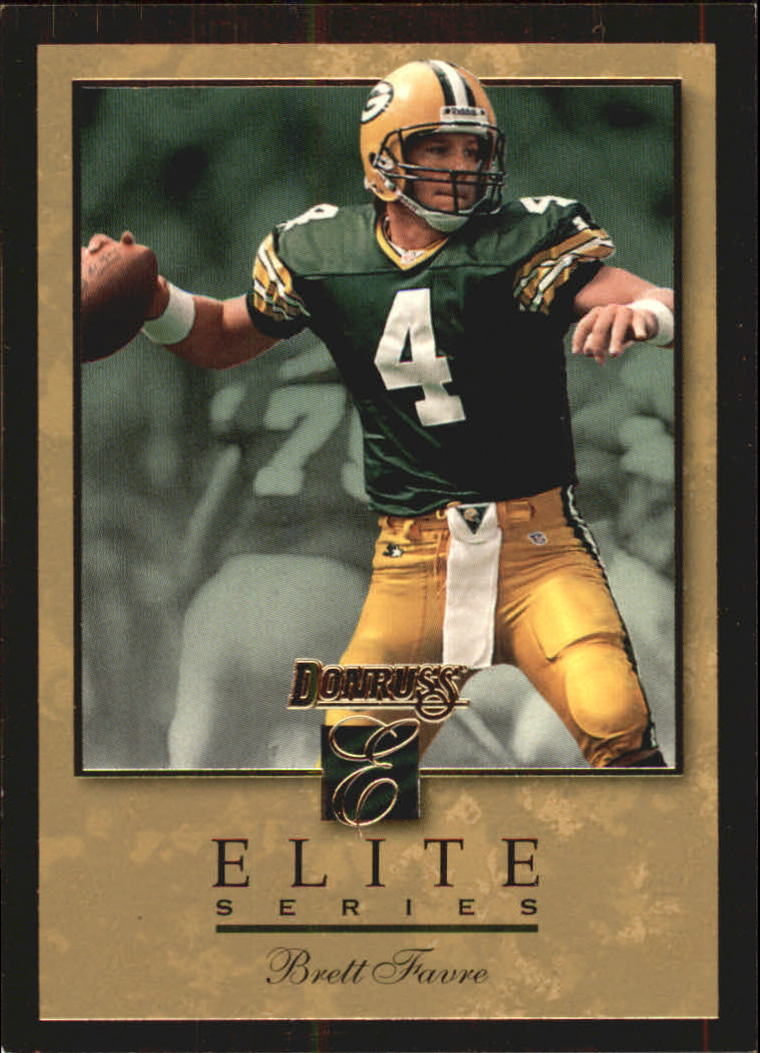 1996 Donruss Elite Gold #9 Brett Favre