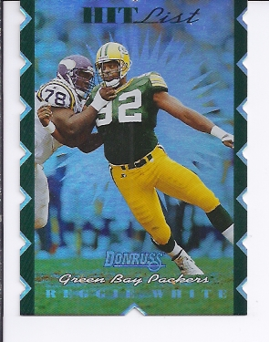 1996 Donruss Hit List #19 Reggie White
