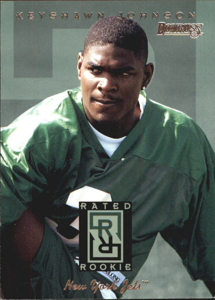 1996 Donruss Rated Rookies #1 Keyshawn Johnson