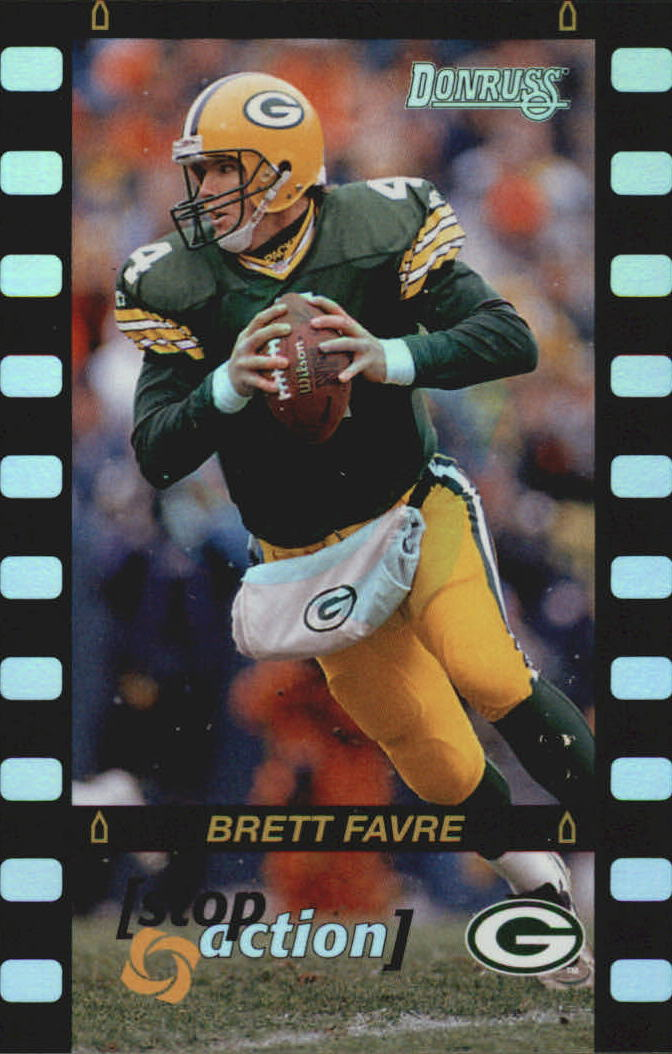 1996 Donruss Stop Action #3 Brett Favre