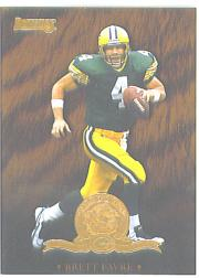 1996 Donruss Will To Win #2 Brett Favre