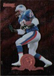 1996 Donruss Will To Win #3 Curtis Martin
