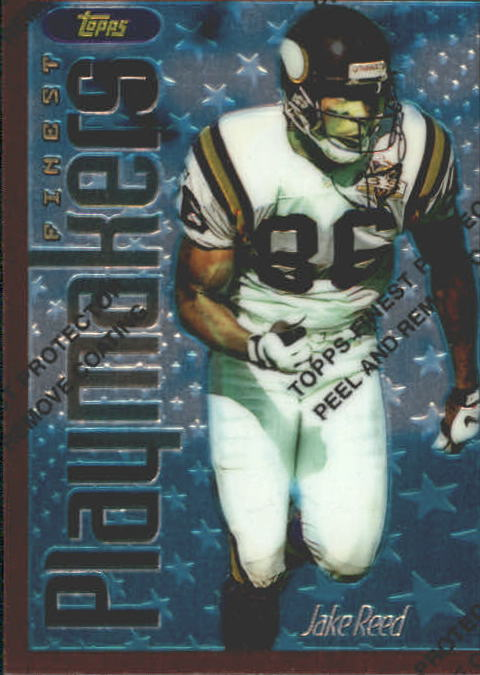1996 Finest #52 Jake Reed B