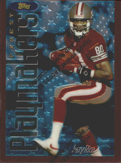 1996 Finest #175 Jerry Rice B