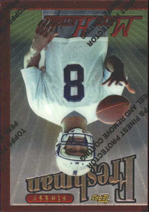 1996 Finest #243 Marvin Harrison B RC