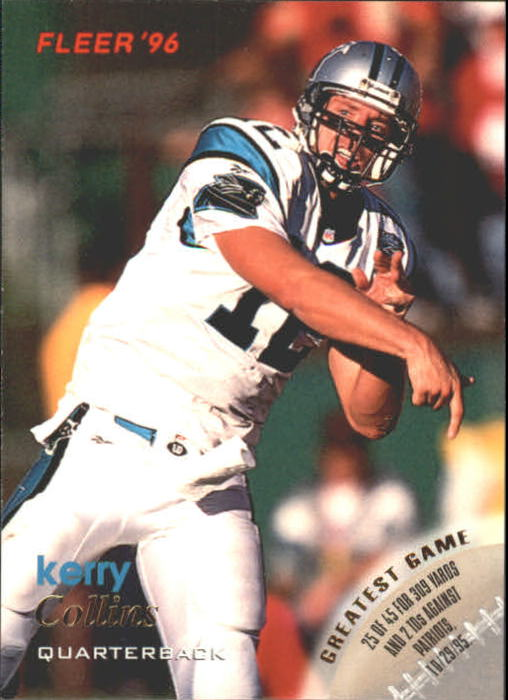 1996 Fleer #19 Kerry Collins