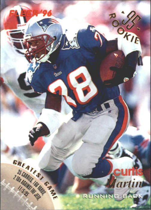 1996 Fleer #84 Curtis Martin