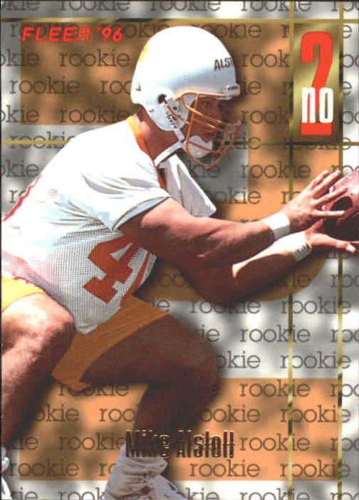 1996 Fleer #142 Mike Alstott RC