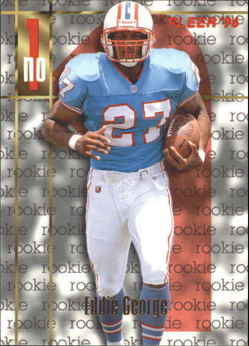 1996 Fleer #155 Eddie George RC