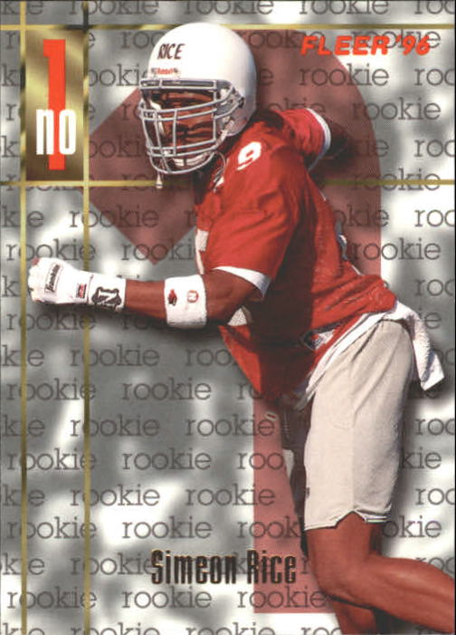 1996 Fleer #176 Simeon Rice RC