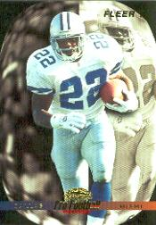 1996 Fleer #190 Emmitt Smith PFW