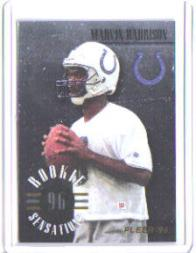 1996 Fleer Rookie Sensations #7 Marvin Harrison