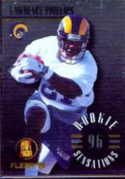 1996 Fleer Rookie Sensations Hot Pack #10 Lawrence Phillips