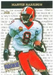 1996 Fleer Rookie Write-Ups #6 Marvin Harrison