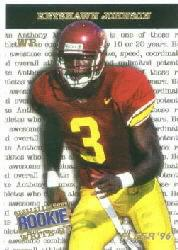 1996 Fleer Rookie Write-Ups #7 Keyshawn Johnson