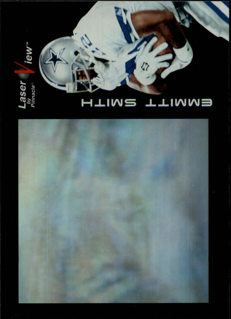 1996 Laser View #4 Emmitt Smith