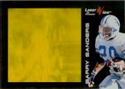 1996 Laser View Gold #6 Barry Sanders