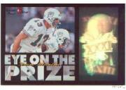 1996 Laser View Eye on the Prize #6 Dan Marino
