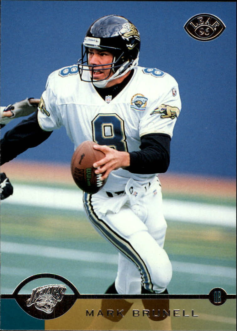 1996 Leaf #81 Mark Brunell