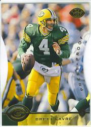 1996 Leaf Press Proofs #44 Brett Favre