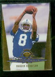 1996 Leaf Gold Leaf Rookies #2 Marvin Harrison