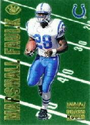 1996 Leaf Grass Roots #9 Marshall Faulk