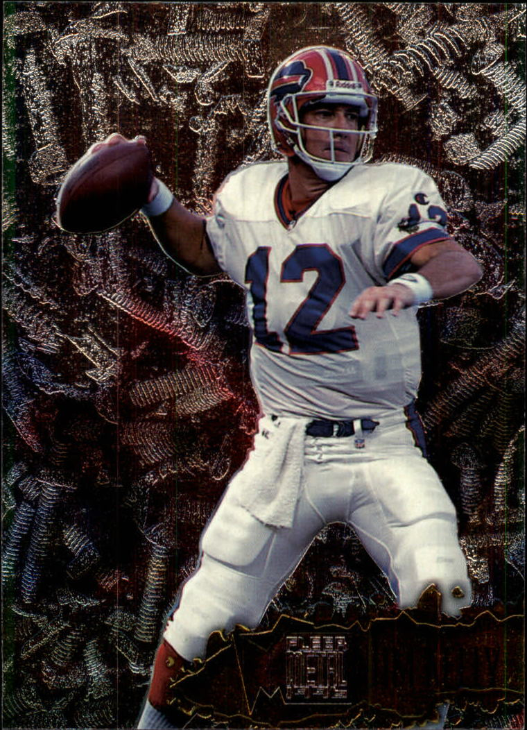 1996 Metal #13 Jim Kelly