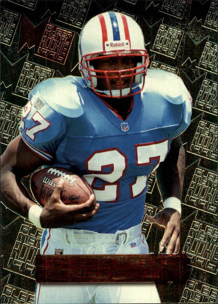 1996 Metal #131 Eddie George RC