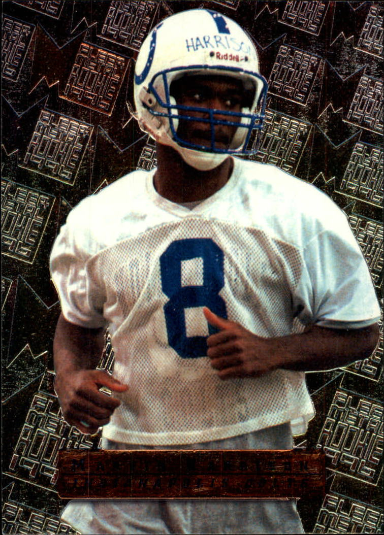 1996 Metal #135 Marvin Harrison RC